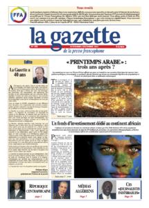 la gazette UNE